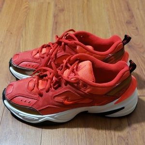 Nike Shoes - Nike M2K TEKNO red suede in university red